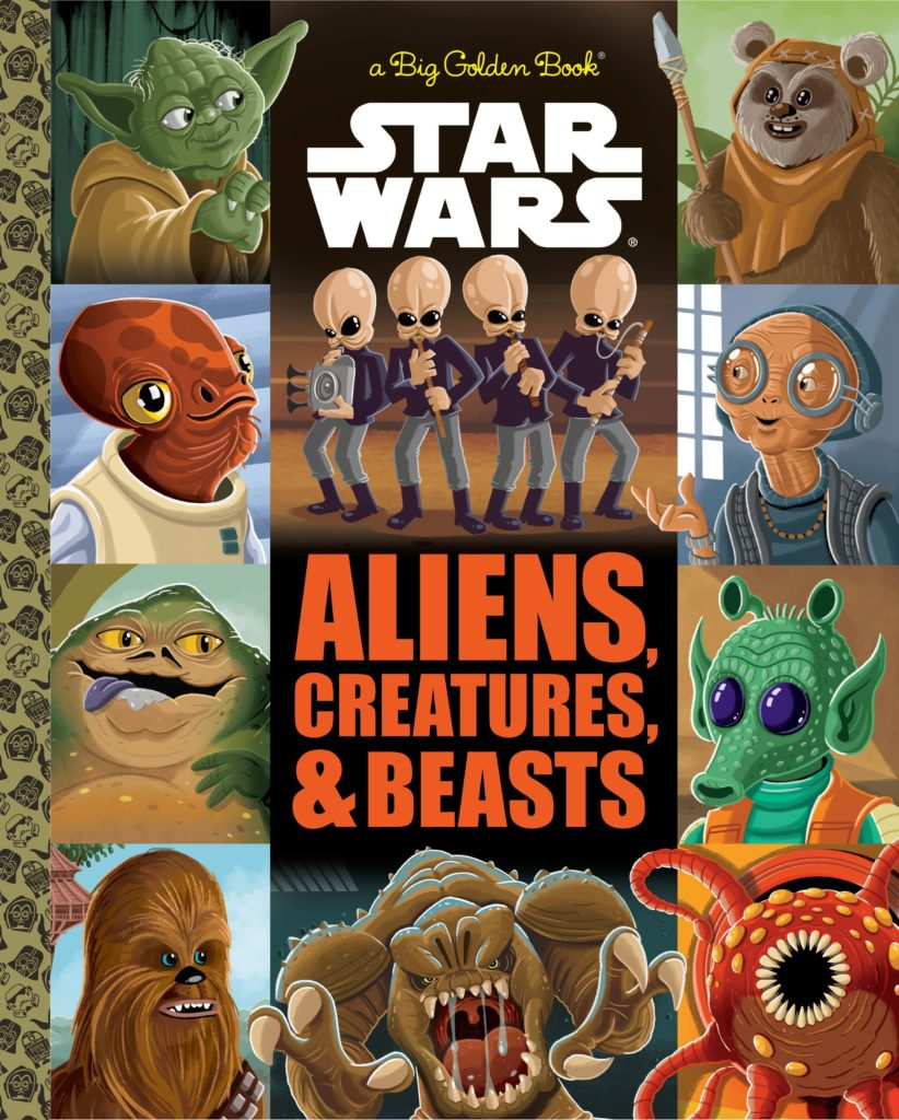Star Wars: The Big Golden Book of Aliens, Creatures and Beasts (02.01.2018)