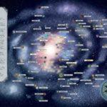 Galactic Maps - Galaxiskarte