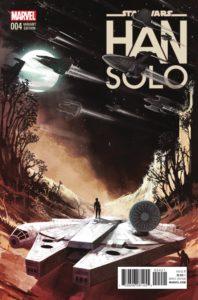 Han Solo #4 (Stephanie Hans Millennium Falcon Variant Cover) (12.10.2016)