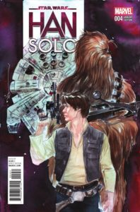 Han Solo #4 (Dustin Nguyen Variant Cover) (12.10.2016)