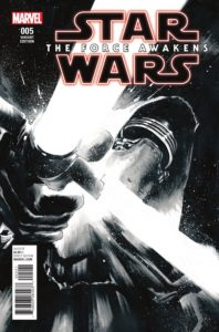 Star Wars: The Force Awakens #5 (Rafael Albuquerque Sketch Variant Cover) (12.10.2016)