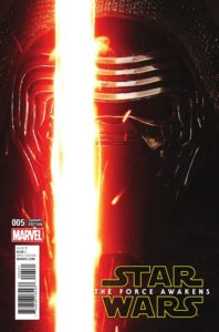 Star Wars: The Force Awakens #5 (Movie Variant Cover) (12.10.2016)