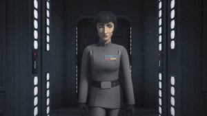 Governor Arihnda Pryce - Star Wars Rebels - Steps into Shadow