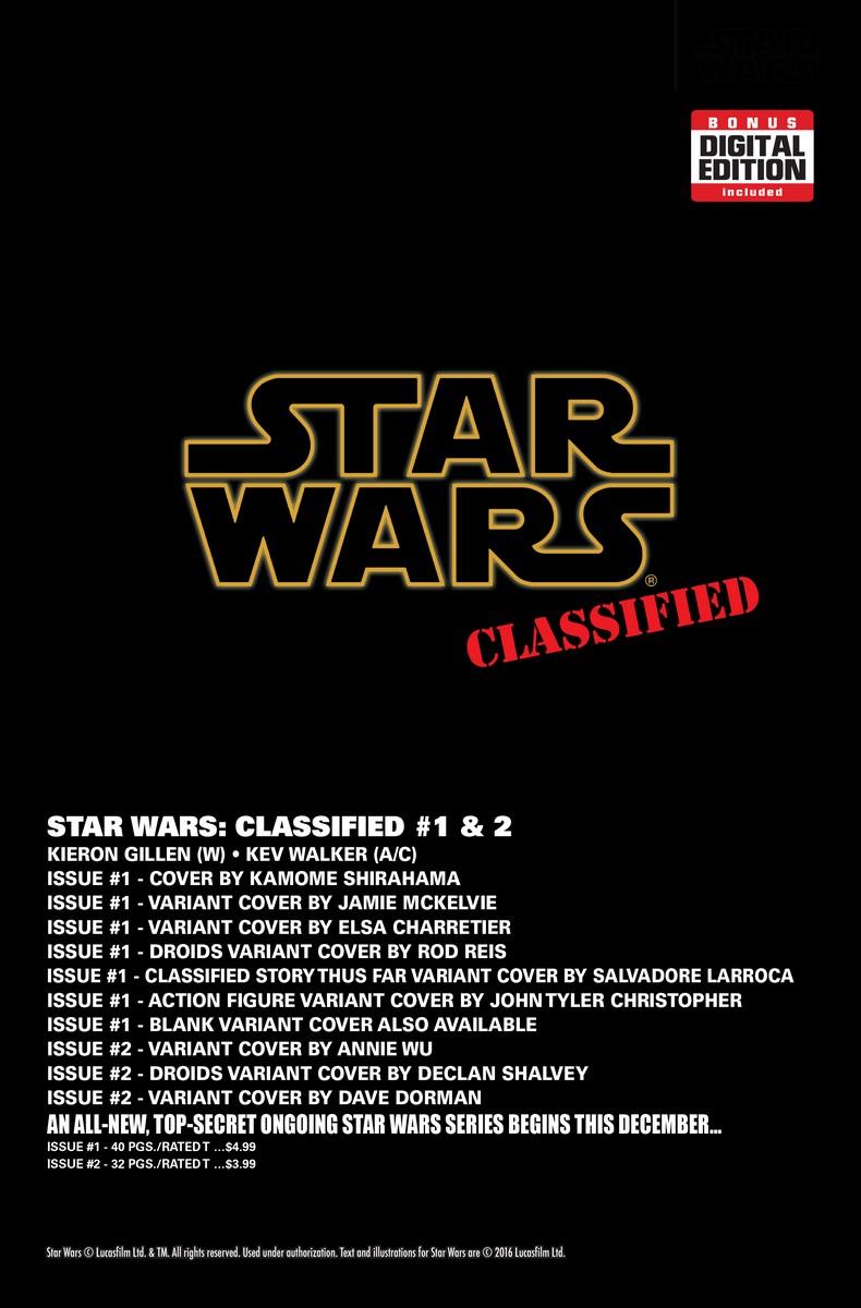 Neue Star Wars Comics - Seite 4 STARWARS-CLASSIFIED