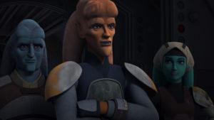 Cham und seine Begleiter in <em>Star Wars Rebels</em>: Der Freiheitskämpfer