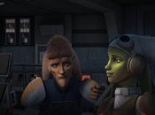 Cham und Hera Syndulla in Star Wars Rebels: Der Freiheitskämpfer