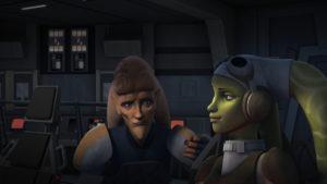 Cham und Hera Syndulla in <em>Star Wars Rebels</em>: Der Freiheitskämpfer