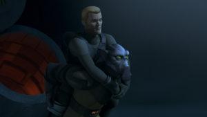 Zeb und Agent Kallus müssen in <em>Eis und Ehre</em> gezwungenermaßen zusammenarbeiten.