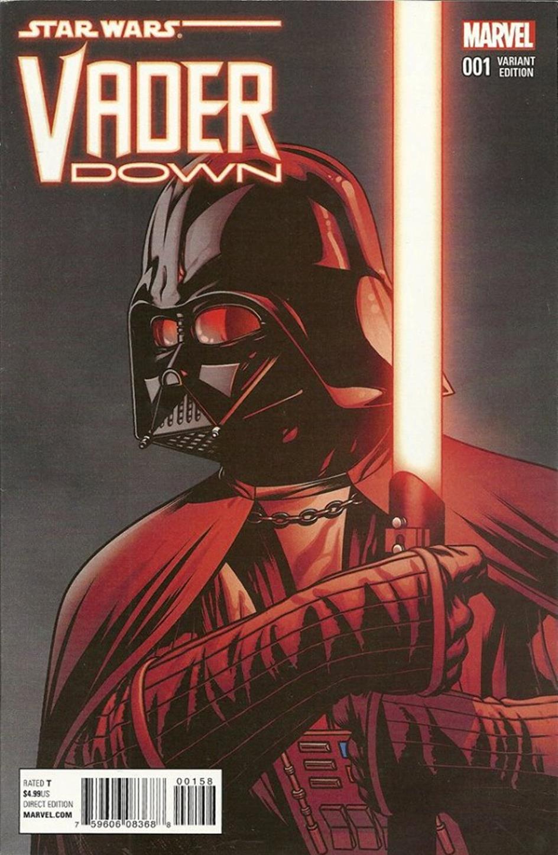 Vader Down #1 (Mike McKone Variant Cover) (Dezember 2015)