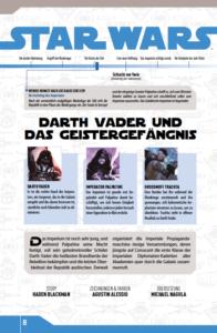 Star Wars Comic-Kollektion, Band 3: Darth Vader und das Geistergefängnis - Bonusmaterial 2