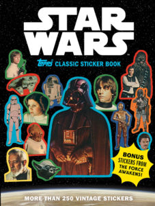 Star Wars Topps Classic Sticker Book (04.04.2017)