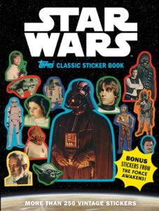 Star Wars Topps Classic Sticker Book (04.04.2017)