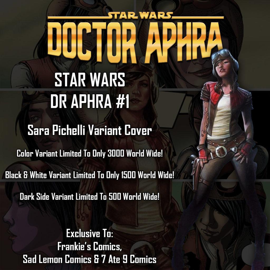 Doctor Aphra #1 - Sara Pichelli Variant Teaser