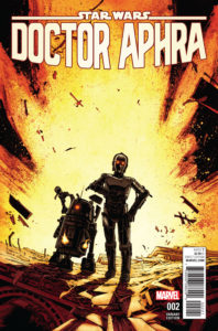 "Doctor Aphra #2 (Declan Shalvey ""Droids"" Variant Cover) (21.12.2016)"