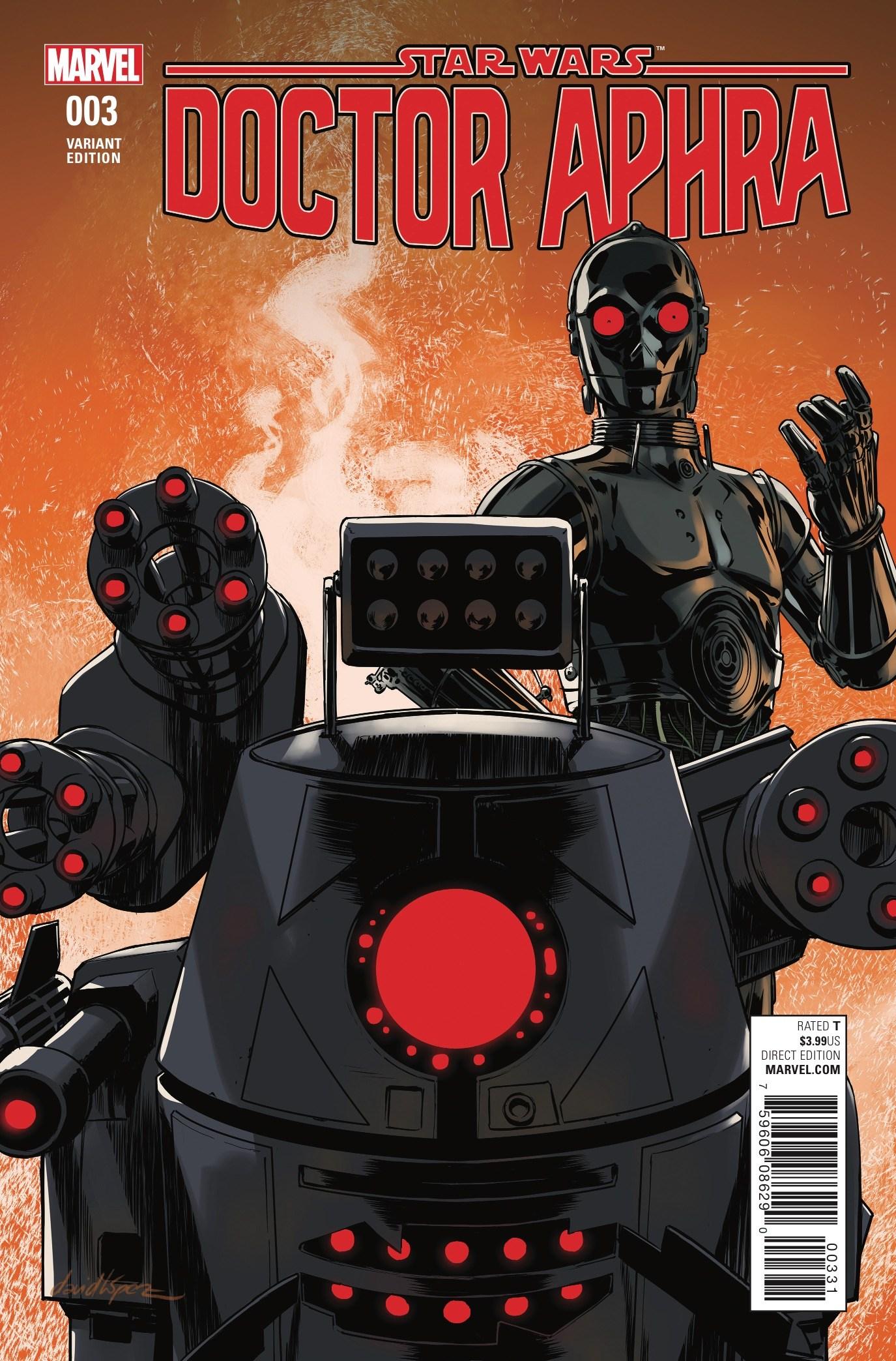Doctor Aphra #3 (David Lopez Droids Variant Cover) (18.01.2017)