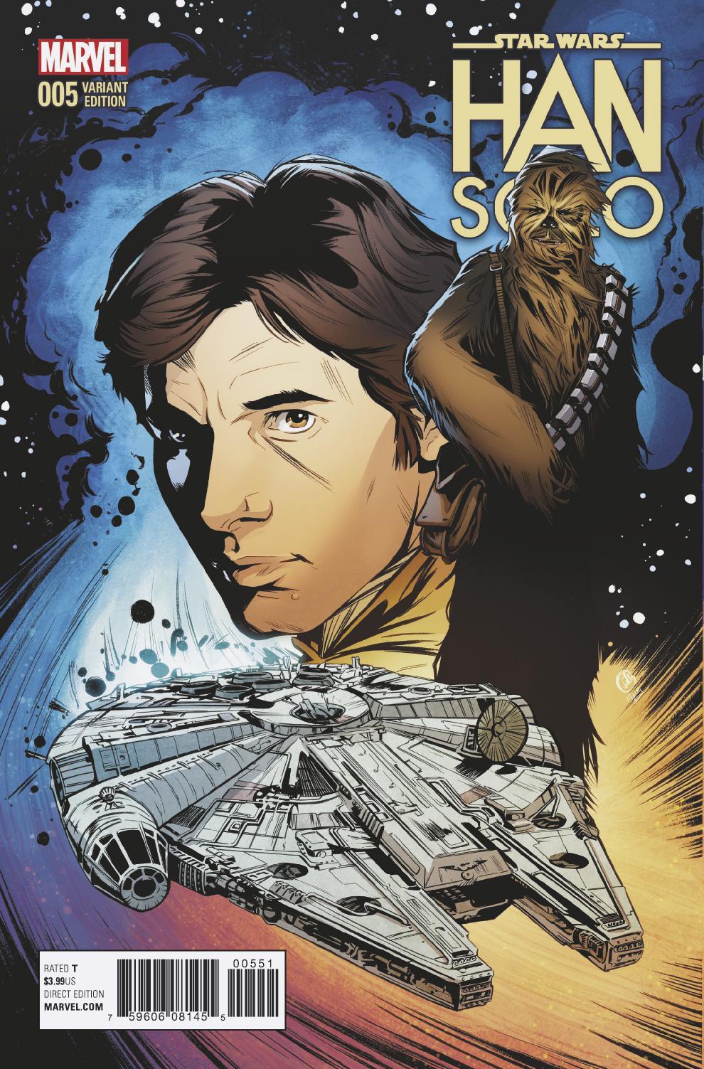 Han Solo #5 (Joëlle Jones Variant Cover) (23.11.2016)