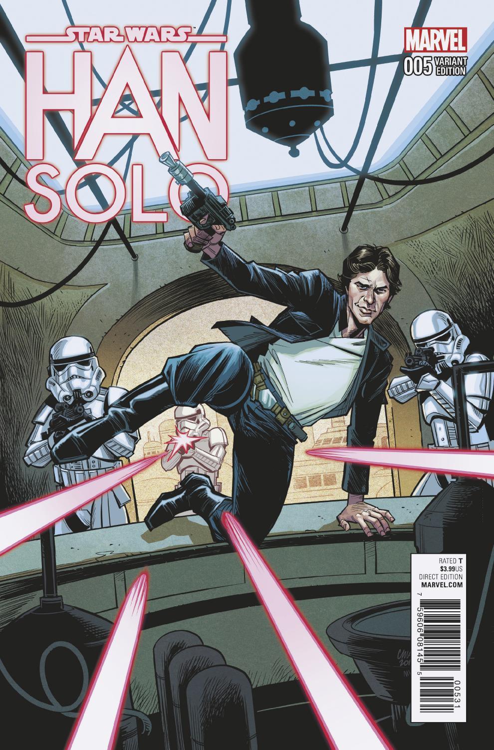 Han Solo #5 (Cameron Stewart Variant Cover) (23.11.2016)