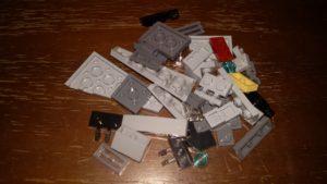 LEGO Star Wars Magazin #17 - Palpatines Shuttle - Bauteile