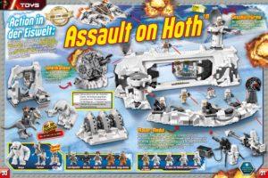 LEGO Star Wars Magazin #17 - Vorschau Seiten 30 und 31