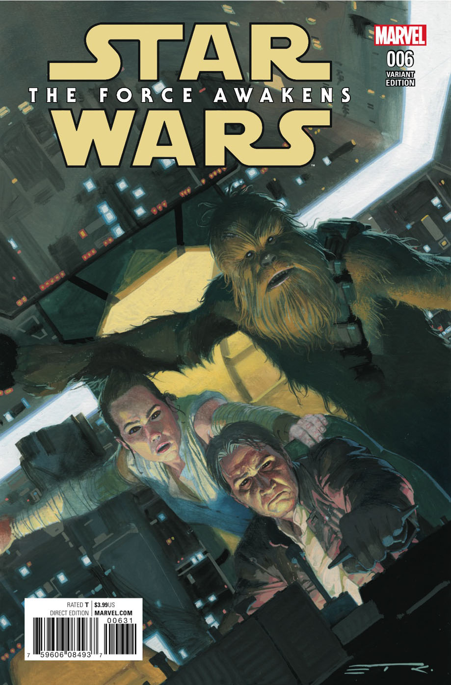 Star Wars: The Force Awakens #6 (Esad Ribic Variant Cover) (09.11.2016)