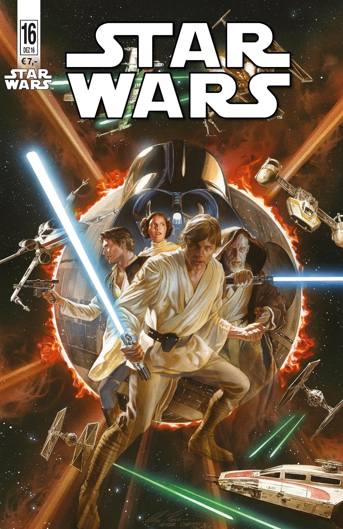 Star Wars #16 (Alex Ross Blu-box Variantcover) (23.11.2016)