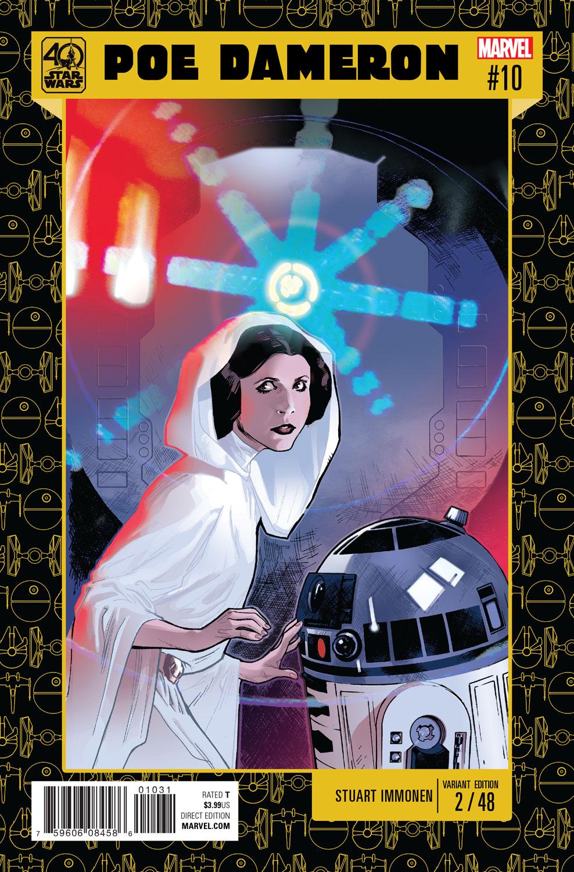 Poe Dameron #10 (Stuart Immonen Star Wars 40th Anniversary Variant Cover) (11.01.2017)