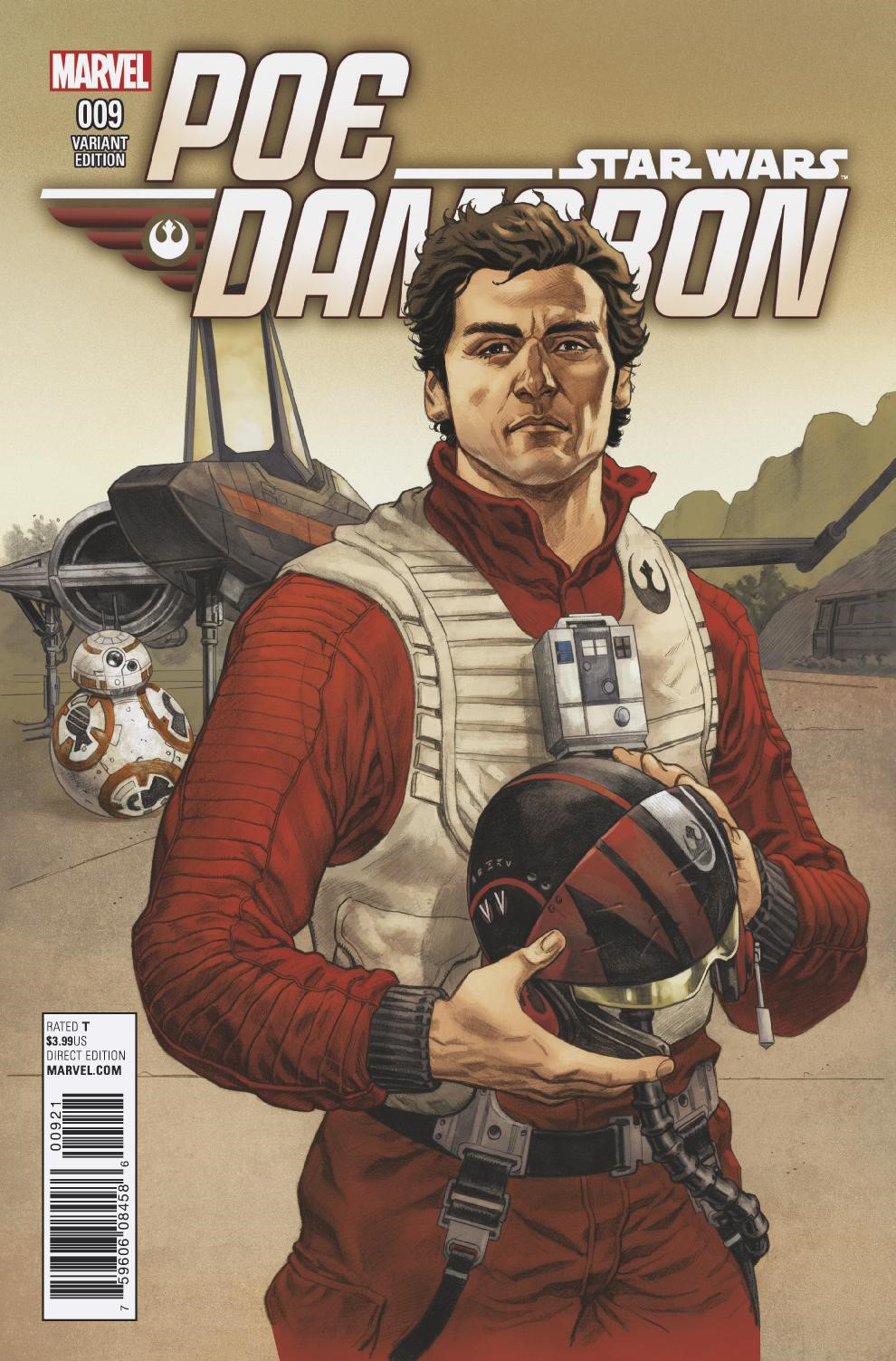 Poe Dameron #9 (Mike Hawthorne Variant Cover) (14.12.2016)