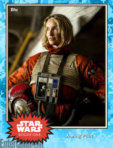 Rogue One Topps Trading Card 1