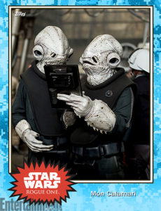 Rogue One Topps Trading Card 4