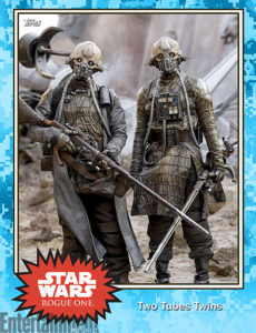 Rogue One Topps Trading Card 5