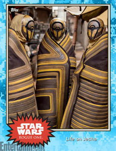 Rogue One Topps Trading Card 6