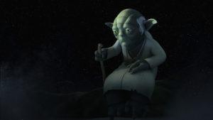"Yoda in ""Shroud of Darkness"""
