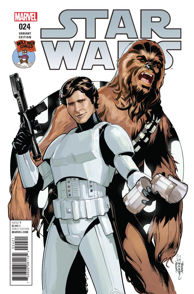 Star Wars #24 (Terry Dodson Mile High Comics Variant Cover) (26.10.2016)