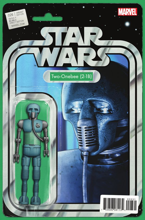 Star Wars #26 (Action Figure Variant Cover) (28.12.2016)