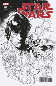 Star Wars #26 (Stuart Immonen Black & White Variant Cover) (28.12.2016)