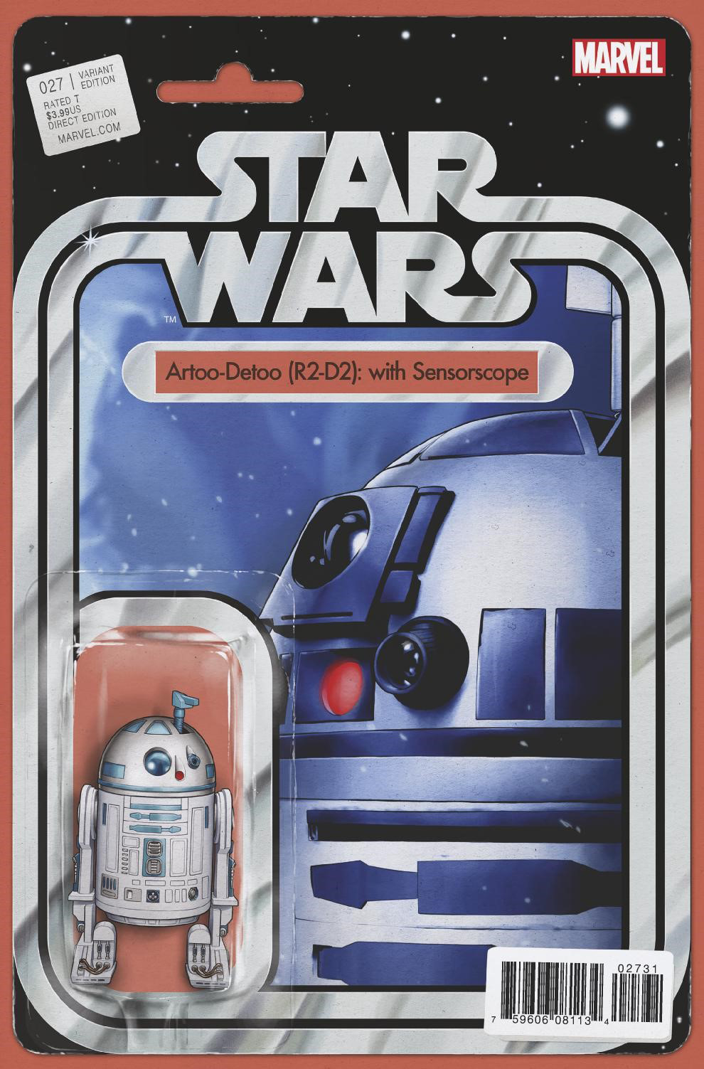 Star Wars #27 (Action Figure Variant Cover) (25.01.2017)