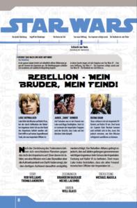 Star Wars Comic-Kollektion, Band 4: Mein Bruder, mein Feind! - Bonusmaterial Seite 2