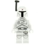 LEGO Minifigur Boba Fett, weiß (2016)