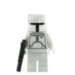 LEGO Minifigur Boba Fett, weiß (2010)