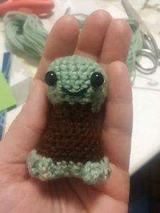 Star Wars Crochet: Ein Häkel-Yoda entsteht 3