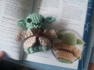 Star Wars Crochet: Ein Häkel-Yoda entsteht 4