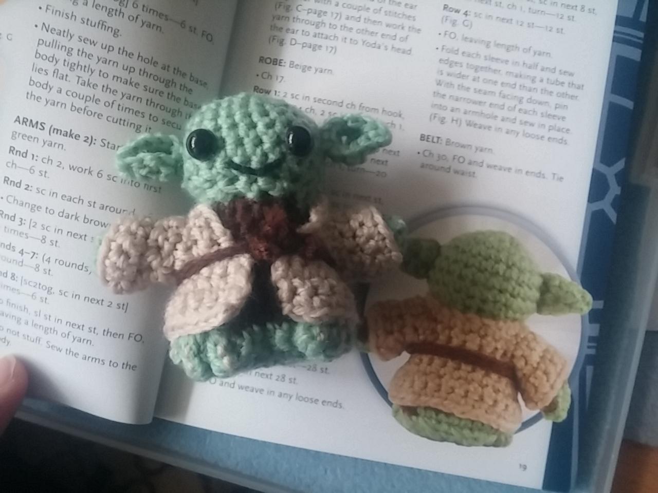 Rezension Zum Häkelbuch Star Wars Crochet Von Lucy Collin Jedi