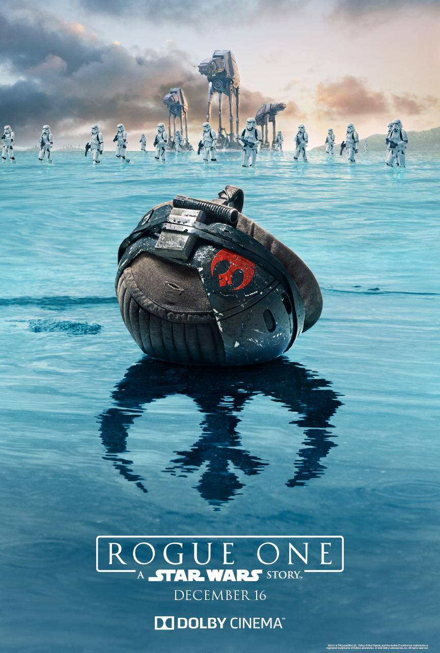 Dolby Cinema Poster Für Rogue One A Star Wars Story Jedi Bibliothek