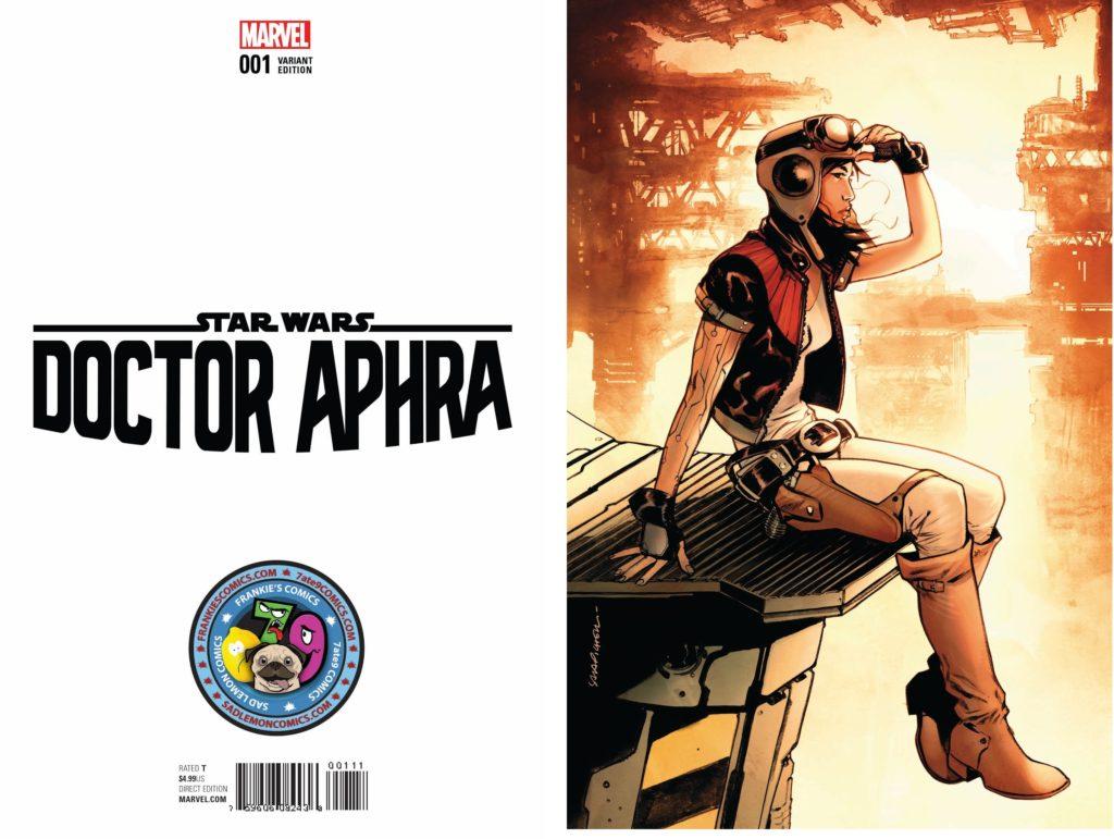Doctor Aphra #1 (Sara Pichelli 7ate9/Sad Lemon/Frankie's Comics Dark Side Variant Cover) (07.12.2016)