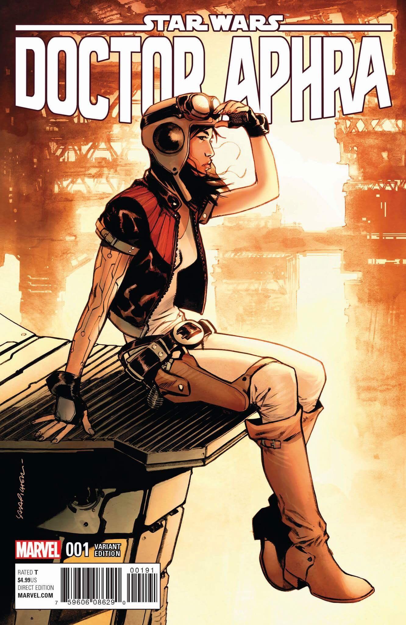 Doctor Aphra #1 (Sara Pichelli 7ate9/Sad Lemon/Frankie's Comics Variant Cover) (07.12.2016)