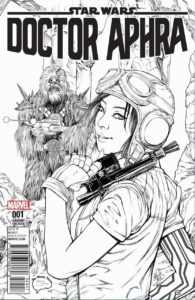 Doctor Aphra #1 (Ashley Witter The Brain Trust Sketch Variant Cover) (07.12.2016)