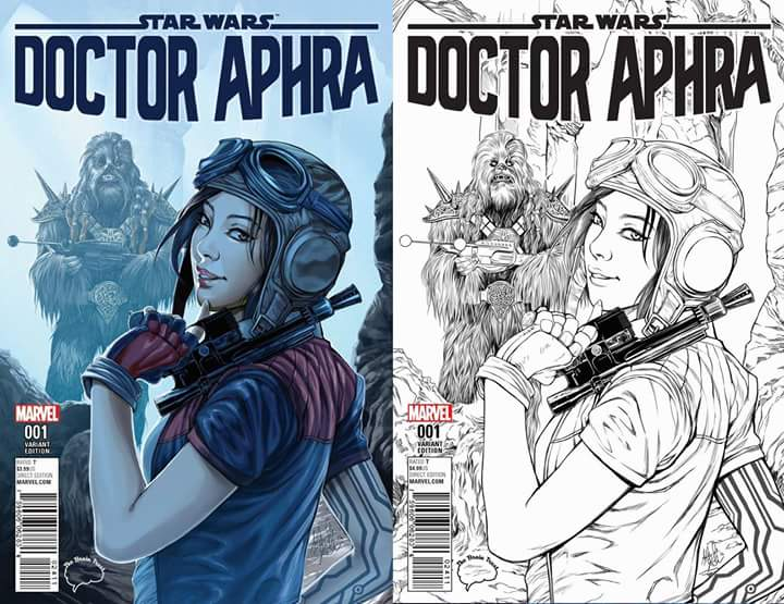 Doctor Aphra #1 (Ashley Witter The Brain Trust Variant Cover)