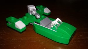 LEGO Star Wars Magazin #18 - Flash Speeder - Minimodell
