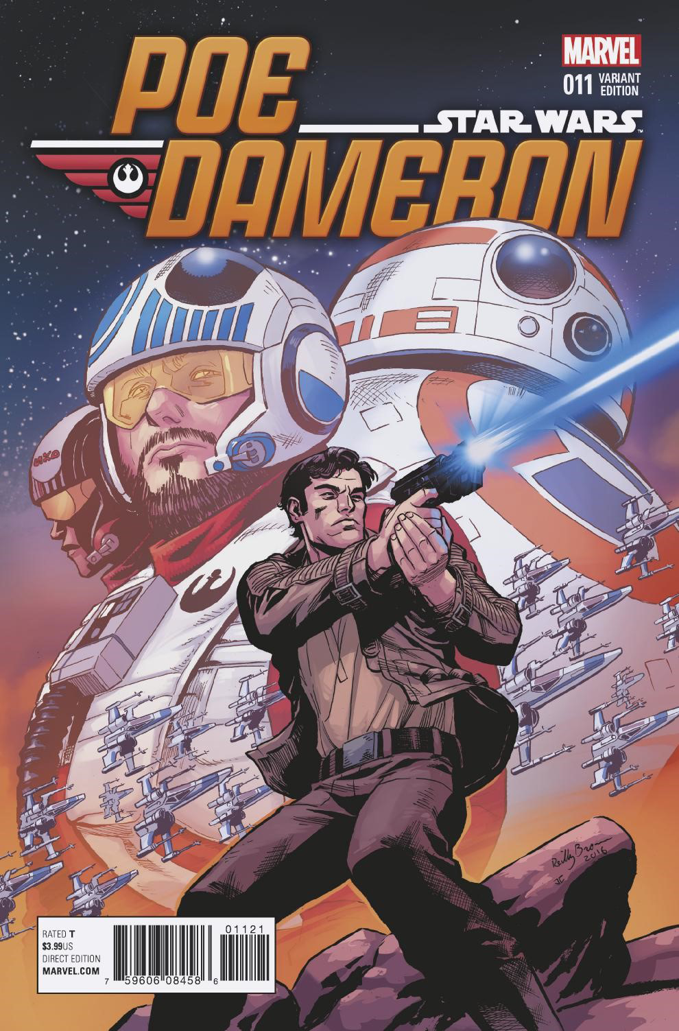 Poe Dameron #11 (Reilly Brown Variant Cover) (15.02.2017)