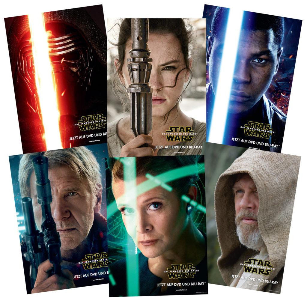 Charakter-Posterset <em>Star Wars: Das Erwachen der Macht</em>